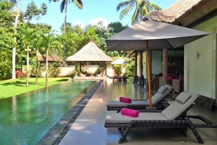 villa privée bamboo
