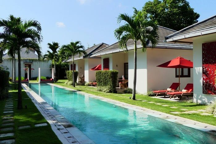 Hôtel Rouge Villas & Villas Privées, Indonésie