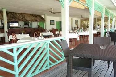 Le coin 'Bar' de l'hôtel (photo personnelle Coralie)