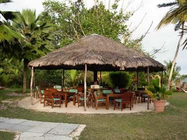 Restaurant de plage pour le déjeuner (photo personnelle de Christelle)