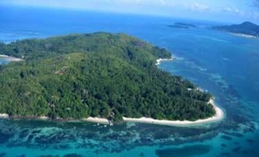 situé sur l'île de Cerf Island aux Seychelles