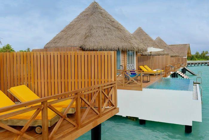 villa sunset sur pilotis avec piscine