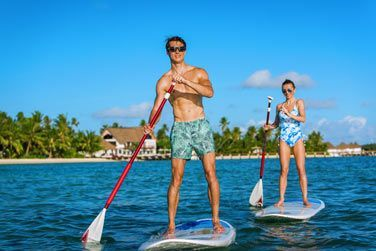 Du stand-up paddle