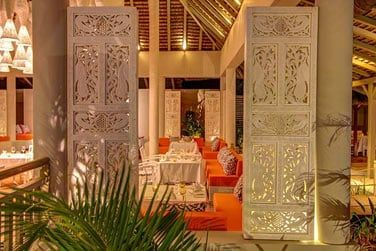 Le restaurant à la carte 'Pomelo'