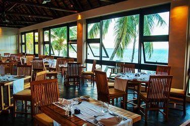 Le restaurant principal 'Cinnamone' propose des plats mauriciens et internationaux...