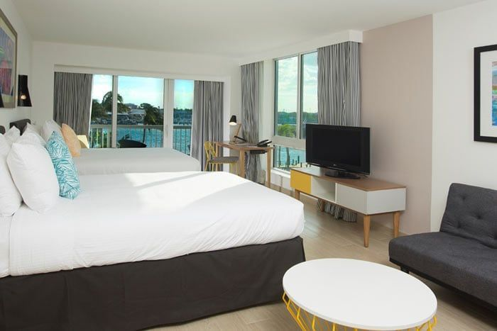 chambre harbour deluxe (balcon)