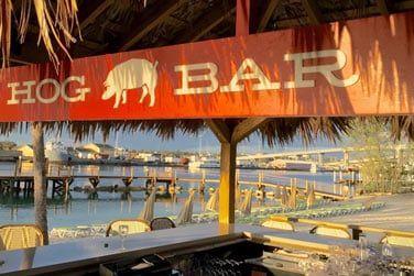 Sirotez de délicieux cocktails au Hog Bar!