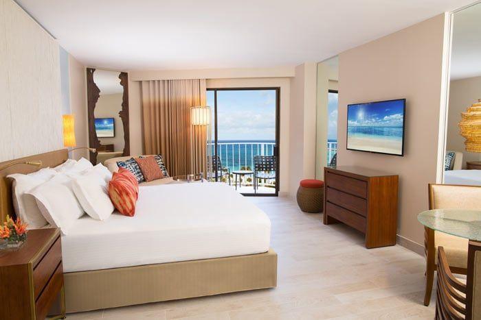 chambre premium vue océan