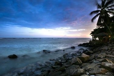 Sur la côte sud du Sri Lanka