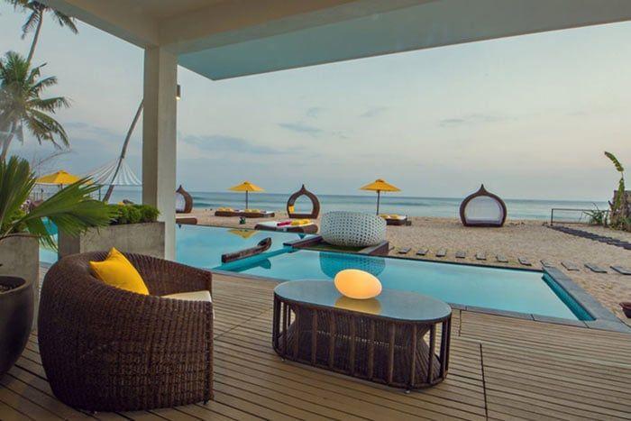 suite master lounge avec piscine