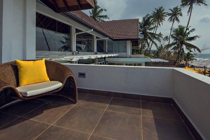 suite plage avec balcon