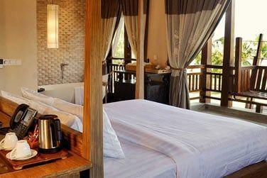 Les chambres deluxe élégantes et confortables