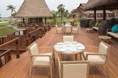 Le restaurant Seaboard Deck