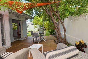 Détendez-vous sur la belle terrasse privée...
