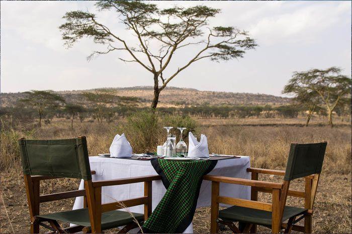 Hôtel Ole Serai Moru kopjes Camp, Tanzanie