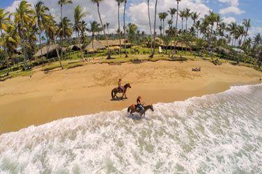 Offrez-vous une balade à cheval sur cette magnifique plage
