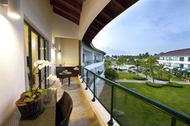 Le balcon des Suites 2 chambres
