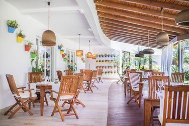 La terrasse du restaurant Bistro