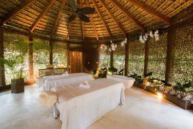 La cabine couple du Spa Coconut Whispers
