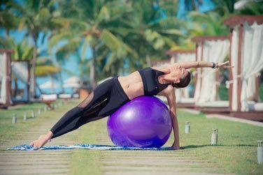 Des cours de yoga sont régulièrement proposés