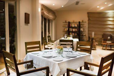 L'intérieur du restaurant Bistro