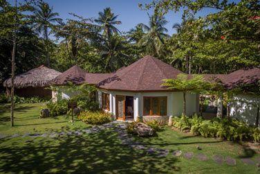 L'extérieur du spa Coconut Whispers