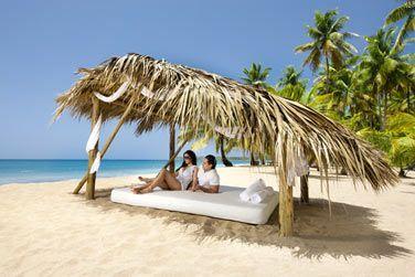 Un moment de détente sur cette belle plage de sable fin !