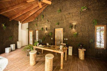 La réception du Spa Coconut