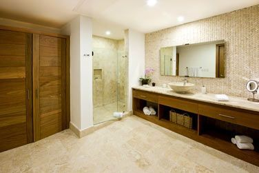 La salle de bain des Suites