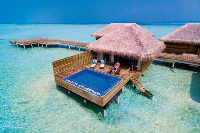suite lagon avec piscine