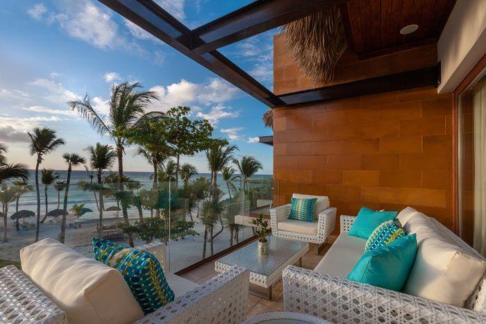 suite front de mer luxury 1 chambre avec piscine