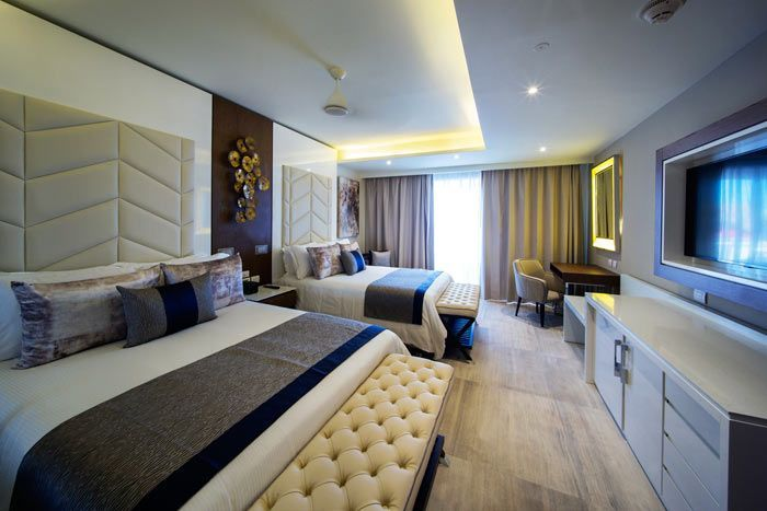 suite chairman's luxury front de mer 2 chambres diamond club