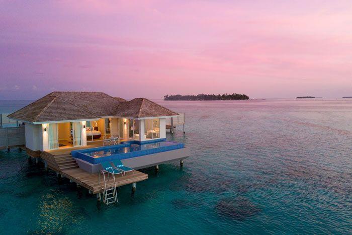 villa aqua honeymoon avec piscine