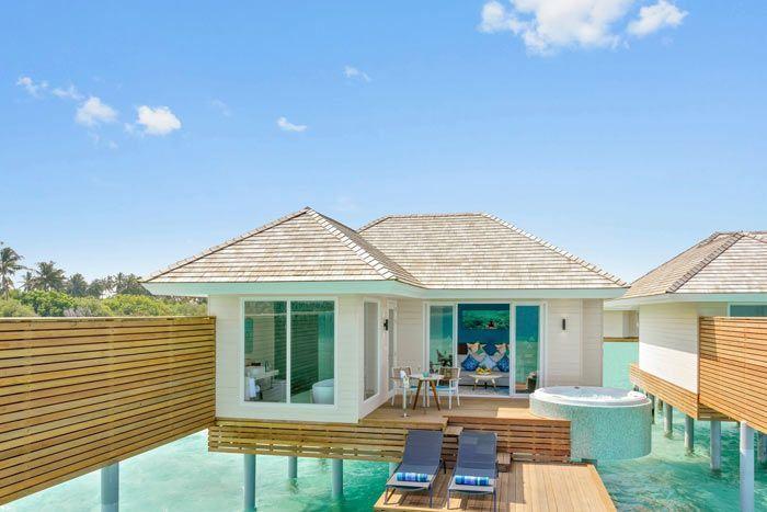 villa aqua avec bain à remous