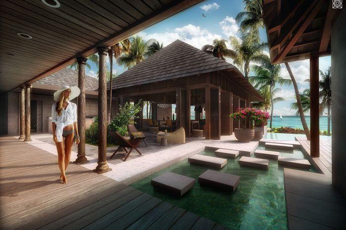 villa front de mer 2 chambres