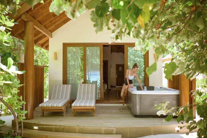 villa plage deluxe avec bain à remous