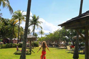 Flânez à votre guise dans les jardins tropicaux de l'hôtel