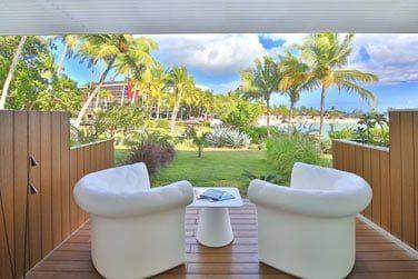 ... avec une jolie terrasse !