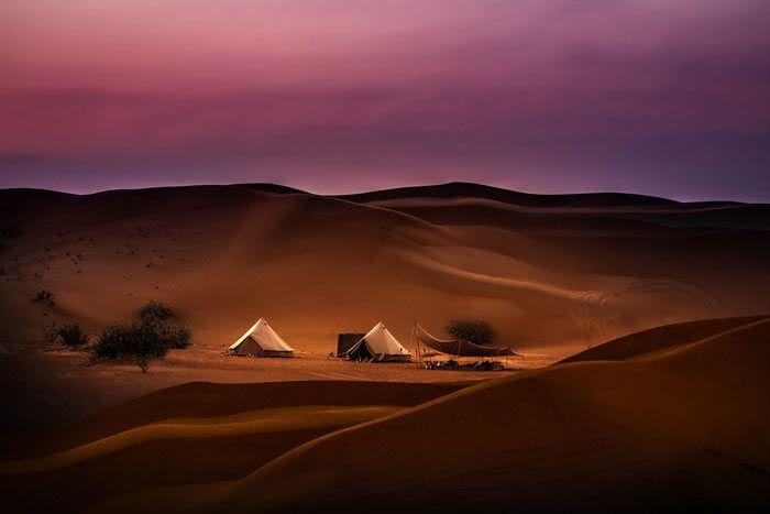 Hôtel Magic Private Camp 5* Luxe, Oman
