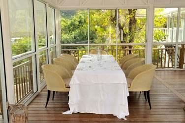 Le restaurant à l'atmosphère élégante... Une table très réputée en Martinique