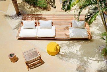 L'hôtel se niche au coeur de superbes jardins tropicaux