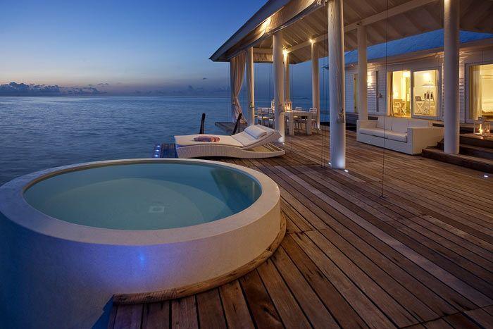 2 bedroom water villa