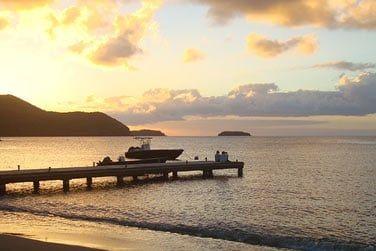 Un décor paradisiaque où vous pourrez admirer de superbes couchers de soleil