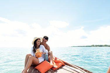 Croisière romantique sur le lagon turquoise