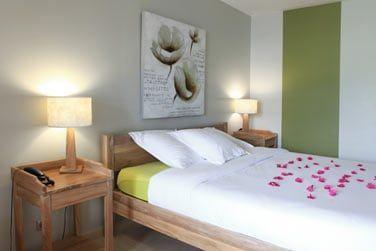 Les chambres vous offrent confort et tranquillité