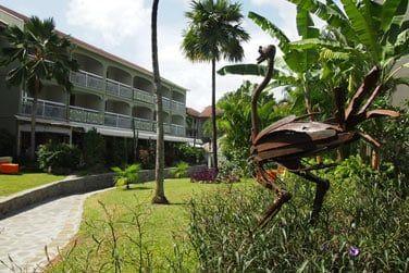 Bienvenue à l'hôtel La Pagerie en Martinique
