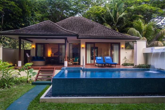 villa king sanctuary avec piscine