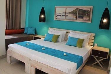 Chambre standard à la décoration colorée !