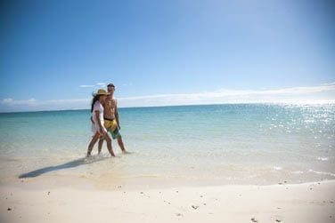 Profitez du lagon ! Les plages de l'île Maurice sont superbes