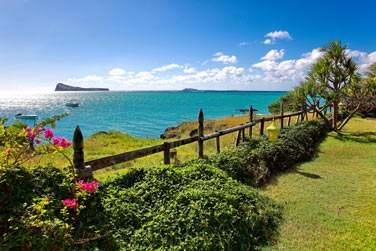 La vue sur les îles du Nord est splendide (vous apercevez ici l'île Coin de Mire !)